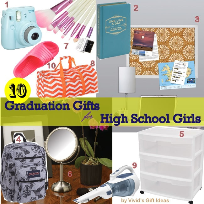 Best ideas about Girls High School Graduation Gift Ideas . Save or Pin 2014 Gifts for Graduating High School Girls Vivid s Now.