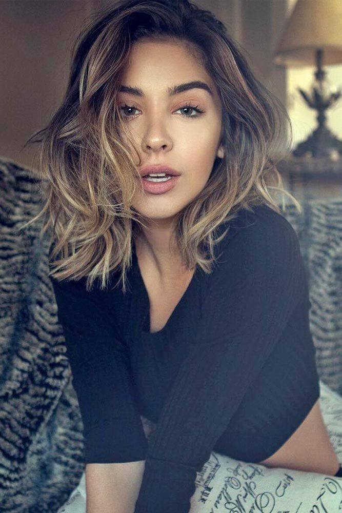 Best ideas about Girls Medium Length Haircuts . Save or Pin 17 Popular Medium Length Hairstyles for Thick Hair Now.