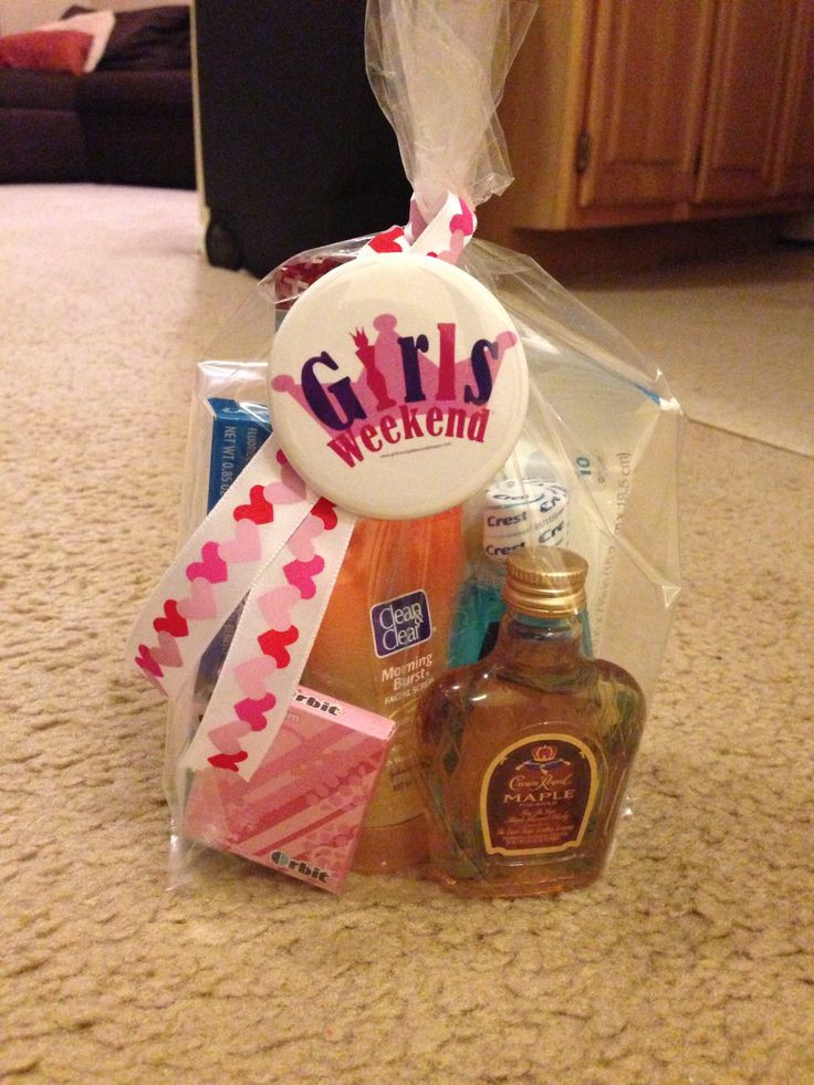 Best ideas about Girls Weekend Gift Bag Ideas . Save or Pin 59 Goo Bag Gift Ideas Best 20 Girls Weekend Gifts Now.