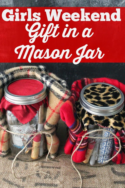 Best ideas about Girls Weekend Gift Bag Ideas . Save or Pin Holiday Survival Kit a Christmas Survival Kit in a Jar Now.