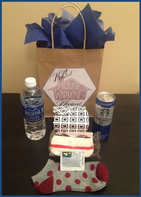 Best ideas about Girls Weekend Gift Bag Ideas . Save or Pin Weekend Goo Bag Bridesmaids Weekend Out of Town Now.