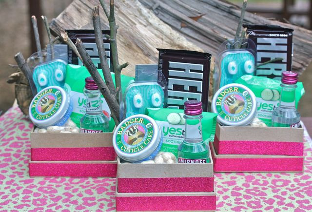 Best ideas about Girls Weekend Gift Bag Ideas . Save or Pin Your Southern Peach Glamping Girls Gift Bags Now.