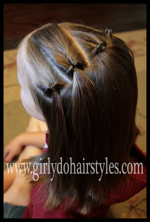 Best ideas about Girly Hairstyles For Kids . Save or Pin 17 Best images about Gymnastics hairstyles on Pinterest Now.