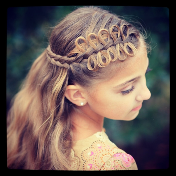Best ideas about Girly Hairstyles For Kids . Save or Pin 40 Cute and Girly Hairstyles with Braids Now.