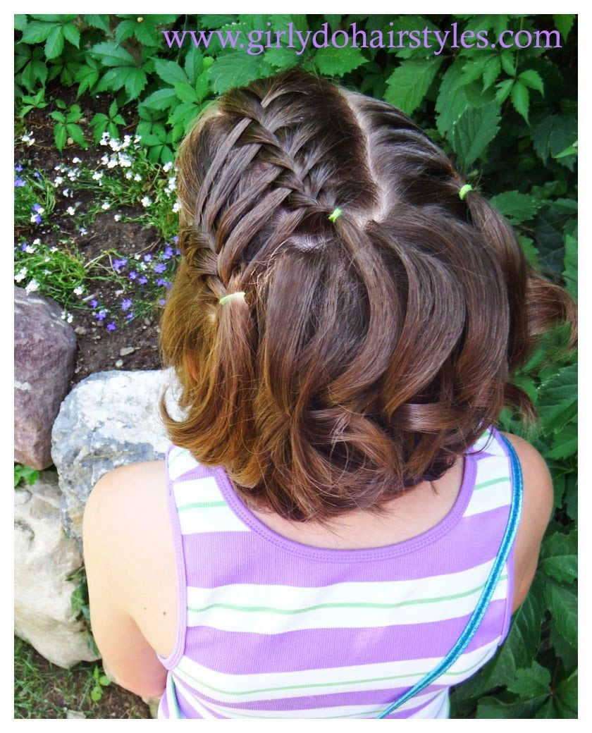 Best ideas about Girly Hairstyles For Kids . Save or Pin Girly Do Hairstyles By Jenn Ladder Waterfall Style For Now.