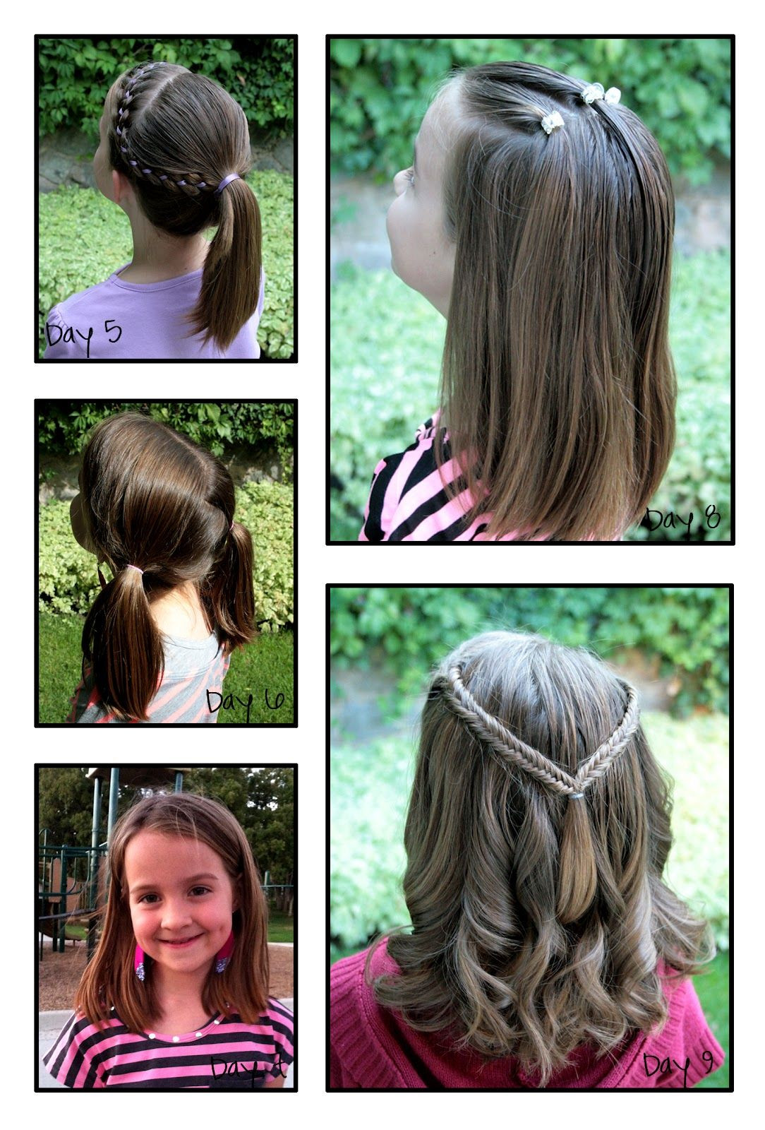 Best ideas about Girly Hairstyles For Kids . Save or Pin Girly Do s By Jenn School Week 2 Now.