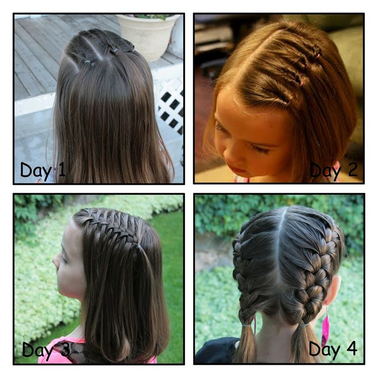 Best ideas about Girly Hairstyles For Kids . Save or Pin 17 Best images about Hair styles for picture day on Now.