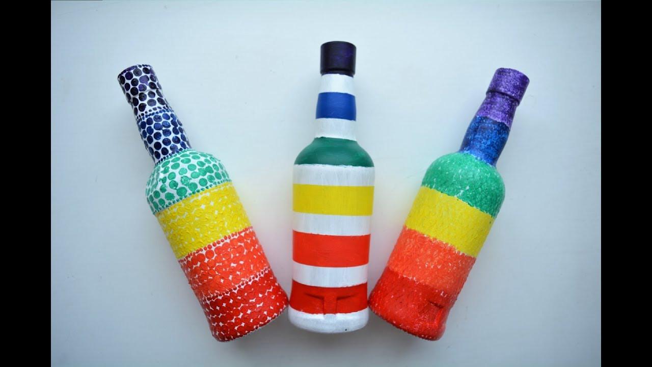 Best ideas about Glass Bottle Craft Ideas . Save or Pin Glass Bottle Craft Ideas Now.