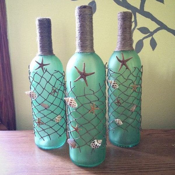 Best ideas about Glass Bottle Craft Ideas . Save or Pin 60 DIY Glass Bottle Craft Ideas for a Stylish Home Pink Now.