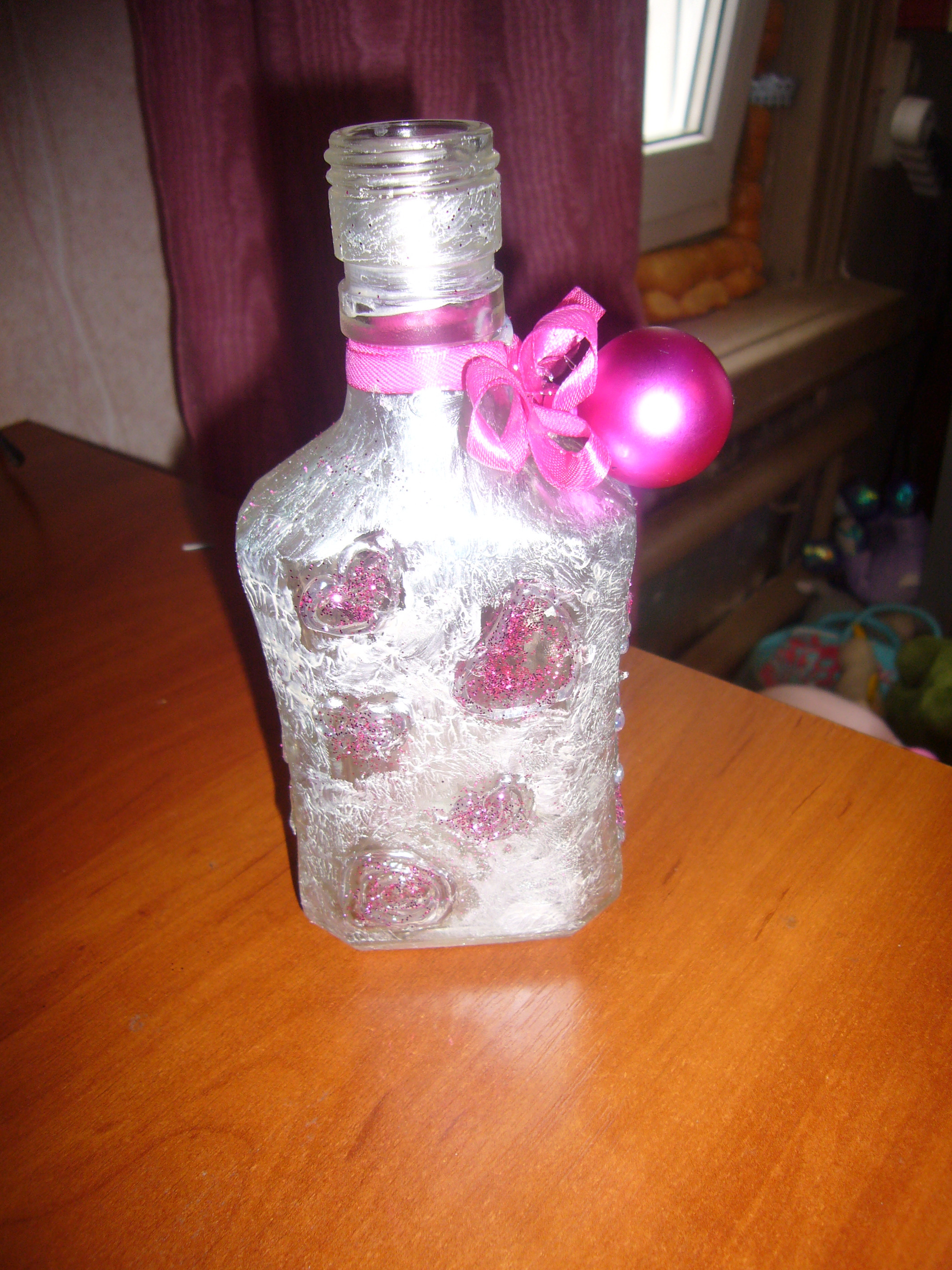Best ideas about Glass Bottle Craft Ideas . Save or Pin bottle decor Now.