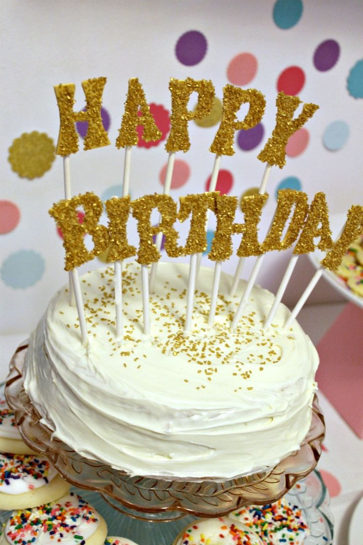 Best ideas about Glitter Birthday Cake . Save or Pin 17 Best ideas about Glitter Birthday Cake on Pinterest Now.