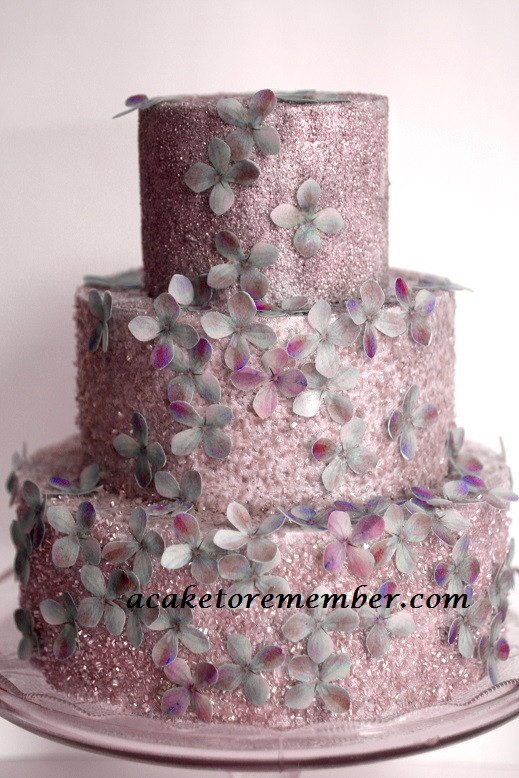 Best ideas about Glitter Birthday Cake . Save or Pin Glitter and Flowers Cake Now.