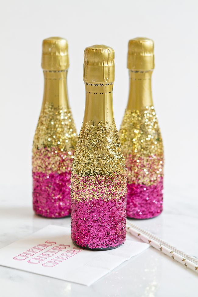 Best ideas about Glitter Wine Bottles DIY . Save or Pin 25 best ideas about Glitter champagne bottles on Now.