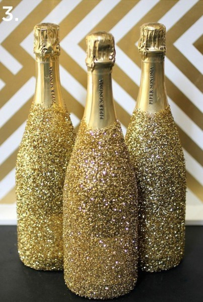 Best ideas about Glitter Wine Bottles DIY . Save or Pin 17 Ways To Repurpose Your Empty Wine Bottles Now.