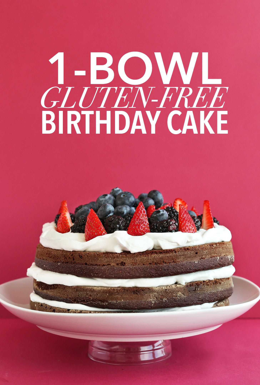 Best ideas about Gluten Free Birthday Cake . Save or Pin Gluten Free Birthday Cake Now.