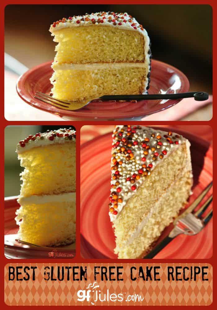 Best ideas about Gluten Free Birthday Cake . Save or Pin Best Gluten Free Cake Recipe gfJules Now.