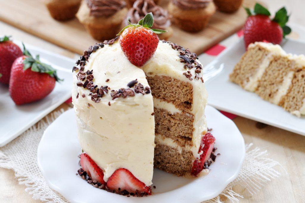 Best ideas about Gluten Free Birthday Cake . Save or Pin Classic Vanilla Birthday Cake Vegan Gluten Free The Now.