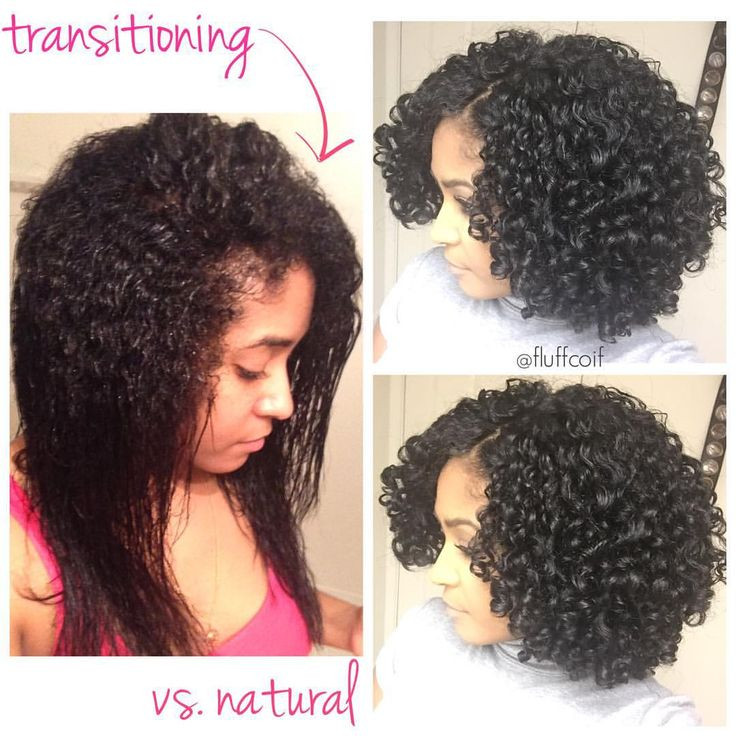 Best ideas about Going Natural Hairstyles . Save or Pin Transitioning wash and go versus a fully natural wash and Now.