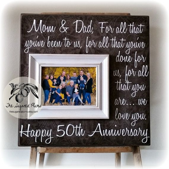 Best ideas about Golden Wedding Anniversary Gift Ideas For Parents . Save or Pin 25 best ideas about Golden anniversary ts on Pinterest Now.
