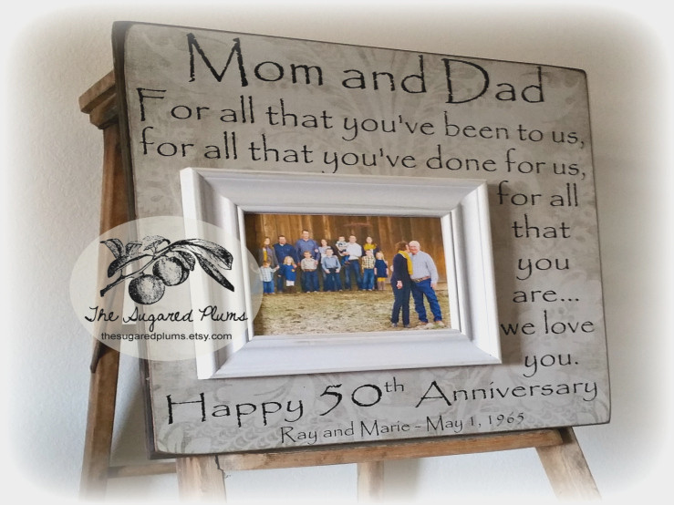 Best ideas about Golden Wedding Anniversary Gift Ideas For Parents . Save or Pin 50th wedding anniversary t ideas for my parents Now.