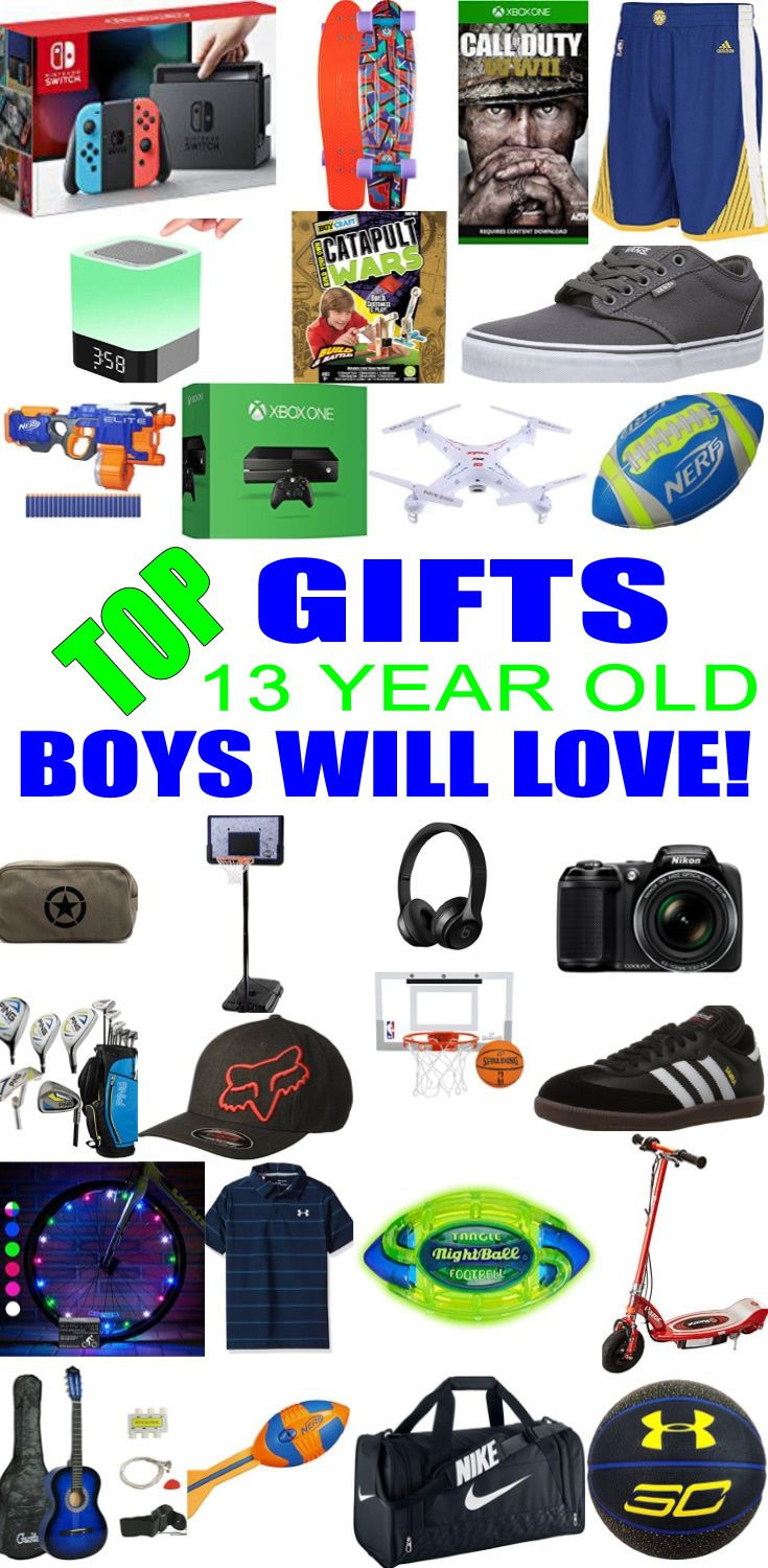 Best ideas about Good Birthday Gifts For 13 Year Old Boy . Save or Pin Best Gifts for 13 Year Old Boys Now.