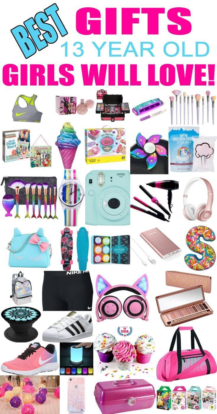 Best ideas about Good Birthday Gifts For 13 Year Old Boy . Save or Pin Gifts 13 Year Old Girls Best t ideas and suggestions Now.