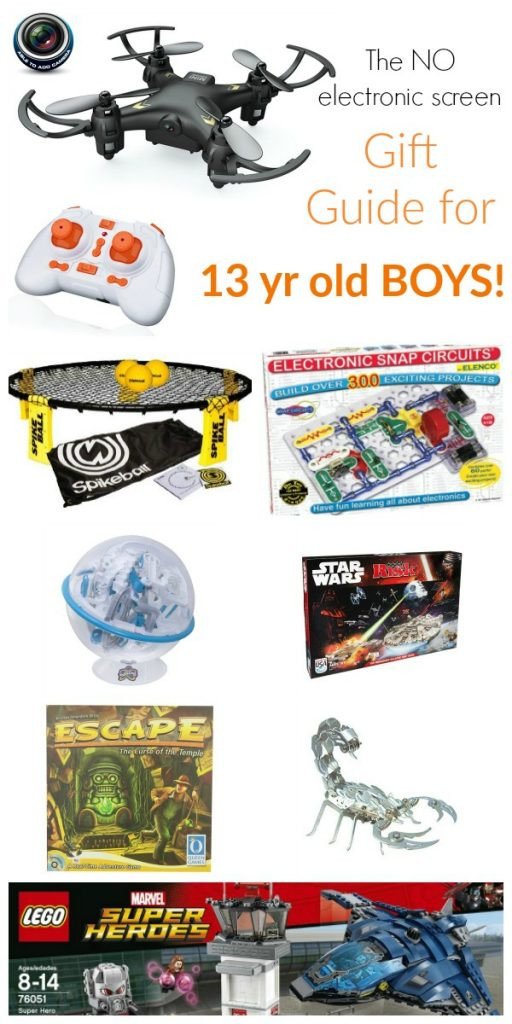 Best ideas about Good Birthday Gifts For 13 Year Old Boy . Save or Pin Gift Guide for 13 Year Old Boys Now.