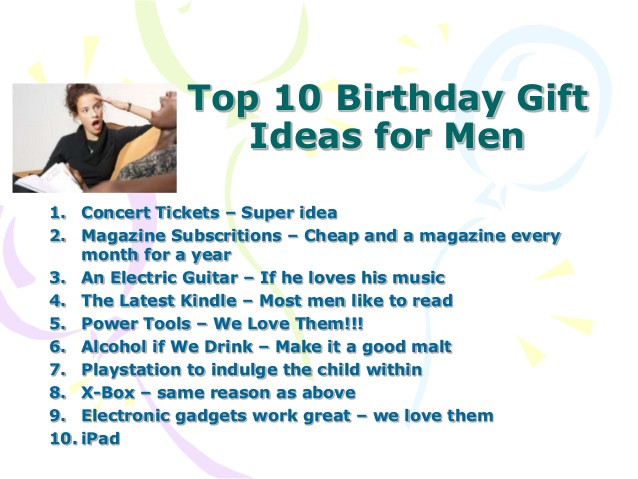 Best ideas about Good Birthday Gifts For Guys . Save or Pin Birthday Gift Ideas For Men Who Have Everything Now.