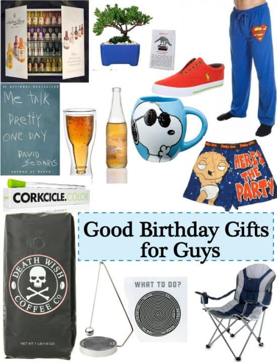 Best ideas about Good Birthday Gifts For Guys . Save or Pin Good Gift Ideas for Guys Birthday Vivid s Gift Ideas Now.