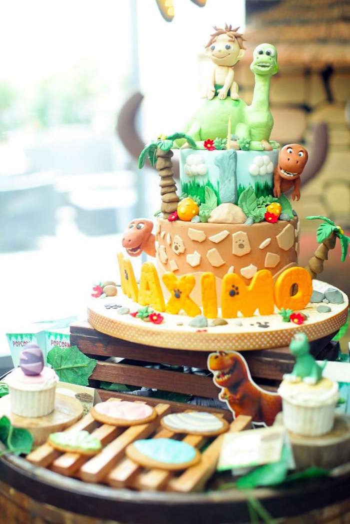 Best ideas about Good Birthday Ideas . Save or Pin Kara s Party Ideas The Good Dinosaur Birthday Party Now.