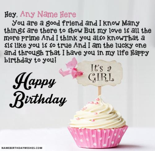 Best ideas about Good Birthday Wishes . Save or Pin Birthday For A Good Friend impremedia Now.