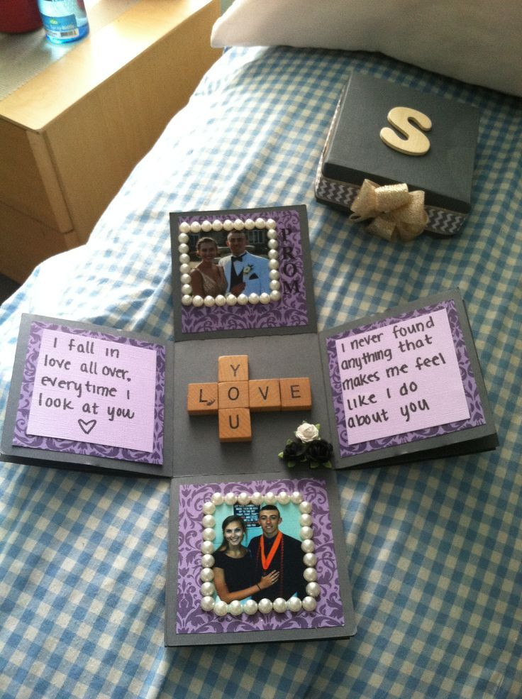 Best ideas about Good Gift Ideas For Boyfriend . Save or Pin 21 DIY Romantic Gifts For Girlfriend You Can t Miss Feed Now.