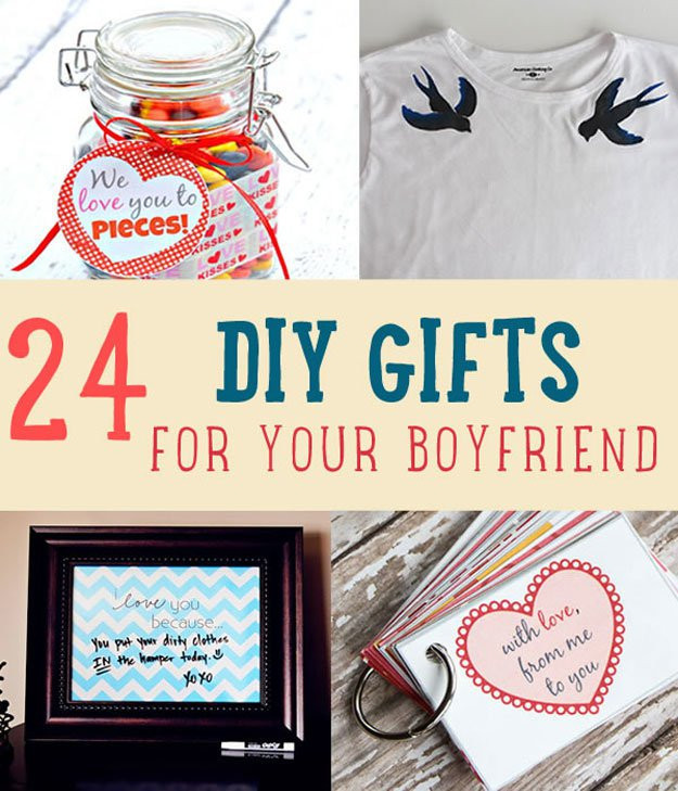 Best ideas about Good Gift Ideas For Boyfriend . Save or Pin 24 DIY Gifts For Your Boyfriend Now.