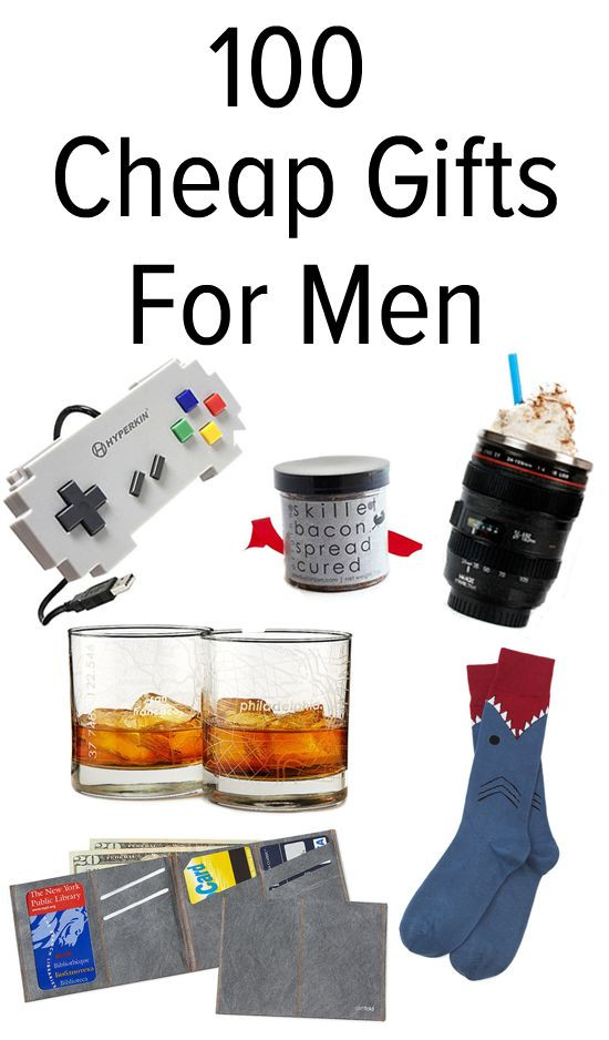 Best ideas about Good Gift Ideas For Men . Save or Pin 105 Awesome but Affordable Gifts For Men Now.