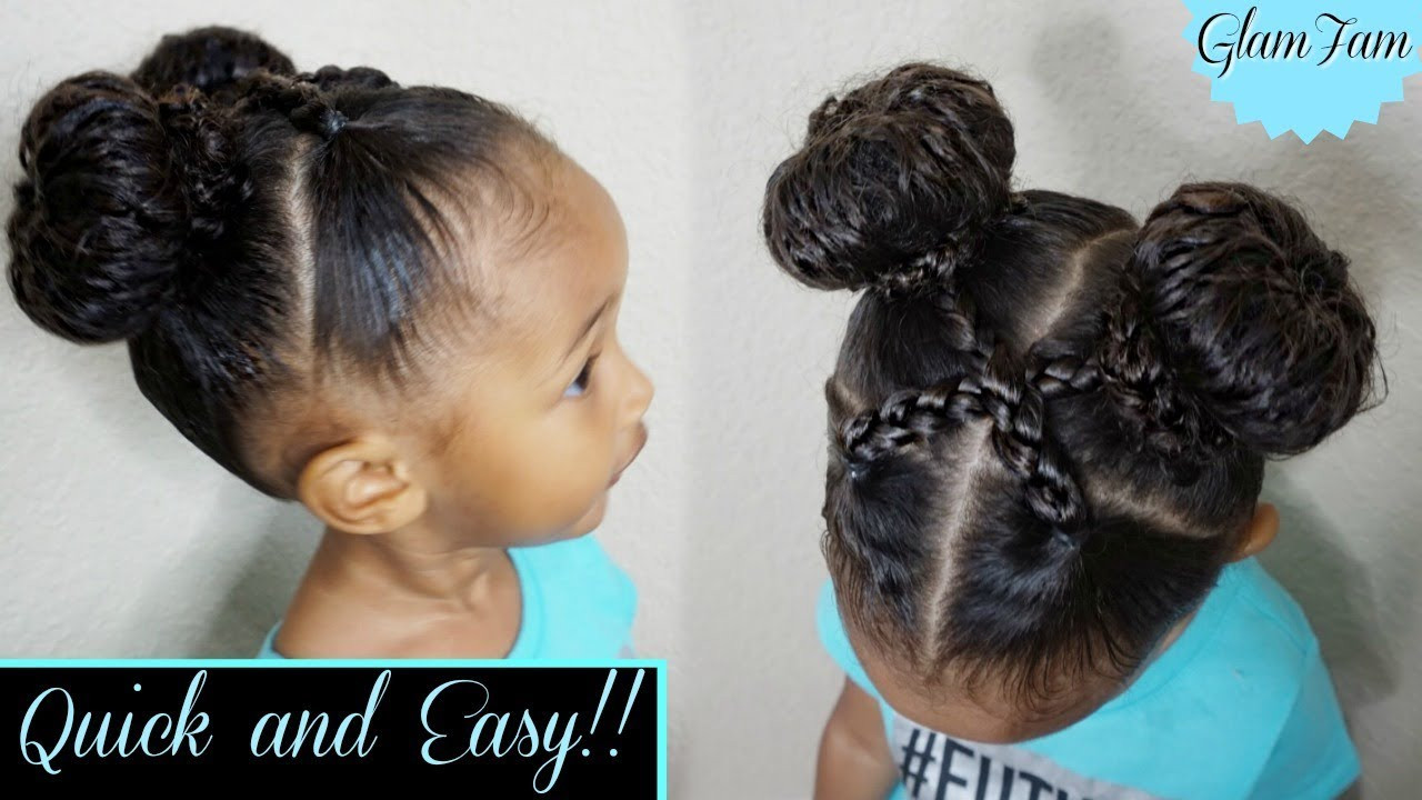 Best ideas about Good Hairstyles For Kids . Save or Pin Quick and Easy hairstyle for Kids Now.