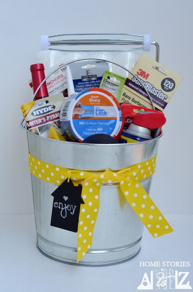 Best ideas about Good Housewarming Gift Ideas . Save or Pin Housewarming Bucket Gift Idea Home Stories A to Z Now.