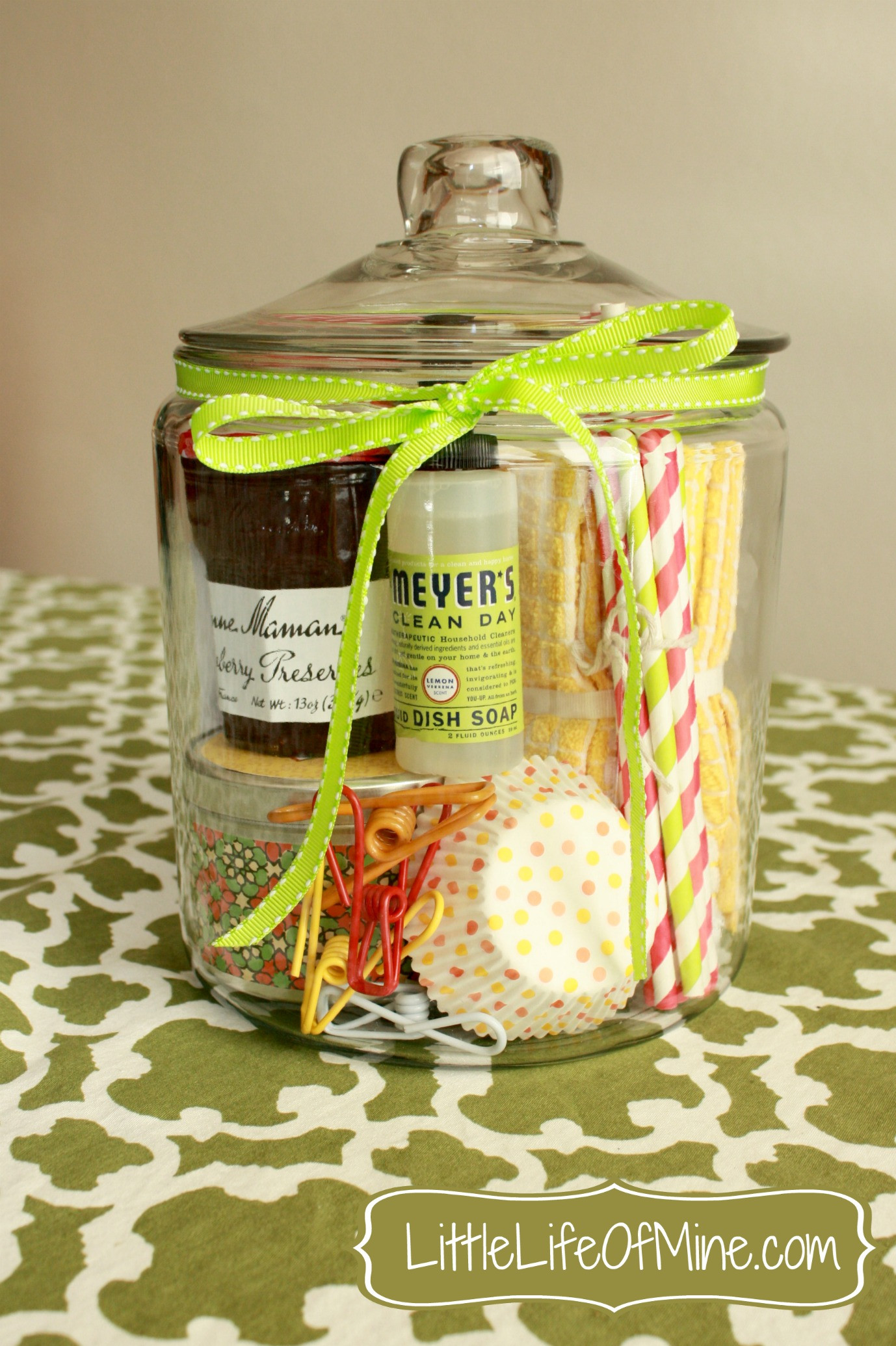 Best ideas about Good Housewarming Gift Ideas . Save or Pin Housewarming Gift in a Jar littlelifeofmine Now.