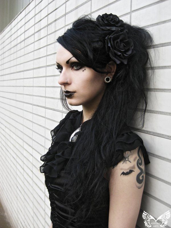 Best ideas about Goth Hairstyles For Girls . Save or Pin Best 20 Gothic hairstyles ideas on Pinterest Now.
