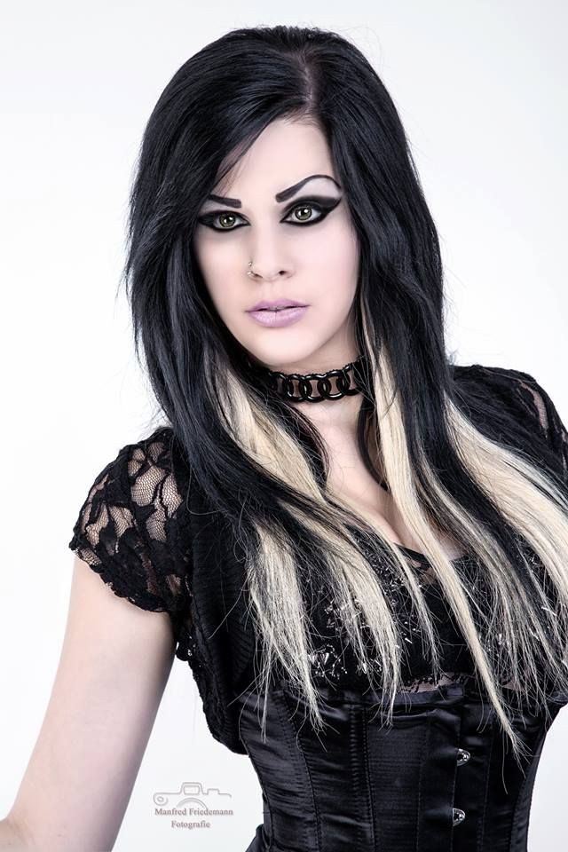 Best ideas about Goth Hairstyles For Girls . Save or Pin 25 best ideas about Black and blonde on Pinterest Now.