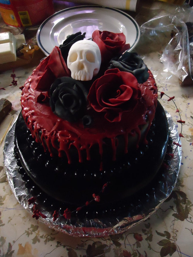 Best ideas about Gothic Birthday Cake . Save or Pin Happy Birthday Cruel Britannia Now.