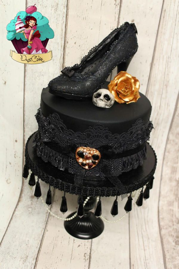 Best ideas about Gothic Birthday Cake . Save or Pin 17 Best ideas about Gothic Birthday Cakes on Pinterest Now.