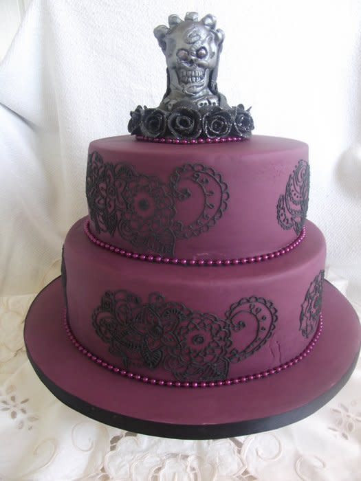 Best ideas about Gothic Birthday Cake . Save or Pin Gothic birthday cake cake by Judedude CakesDecor Now.