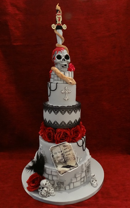 Best ideas about Gothic Birthday Cake . Save or Pin Celebration Cakes Top Nosh Cakes Now.