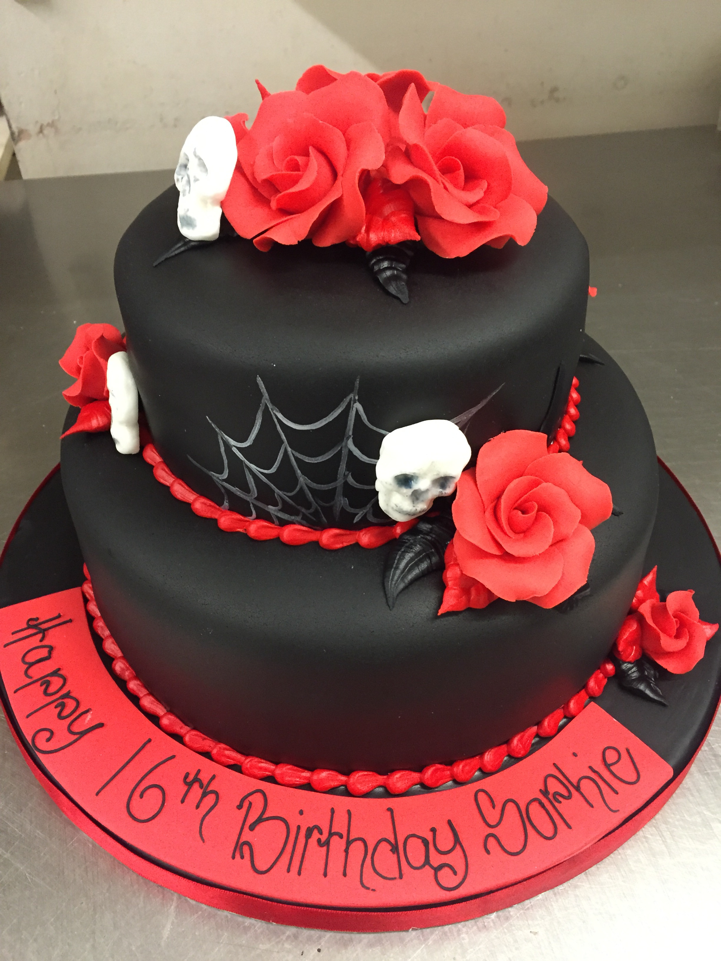 Best ideas about Gothic Birthday Cake . Save or Pin Gothic Birthday Cake M Rays Bakery Now.