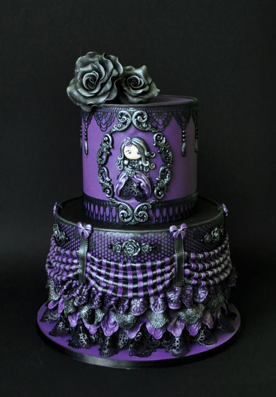 Best ideas about Gothic Birthday Cake . Save or Pin Victorian Gothic cake by ArchiCAKEture CakesDecor Now.