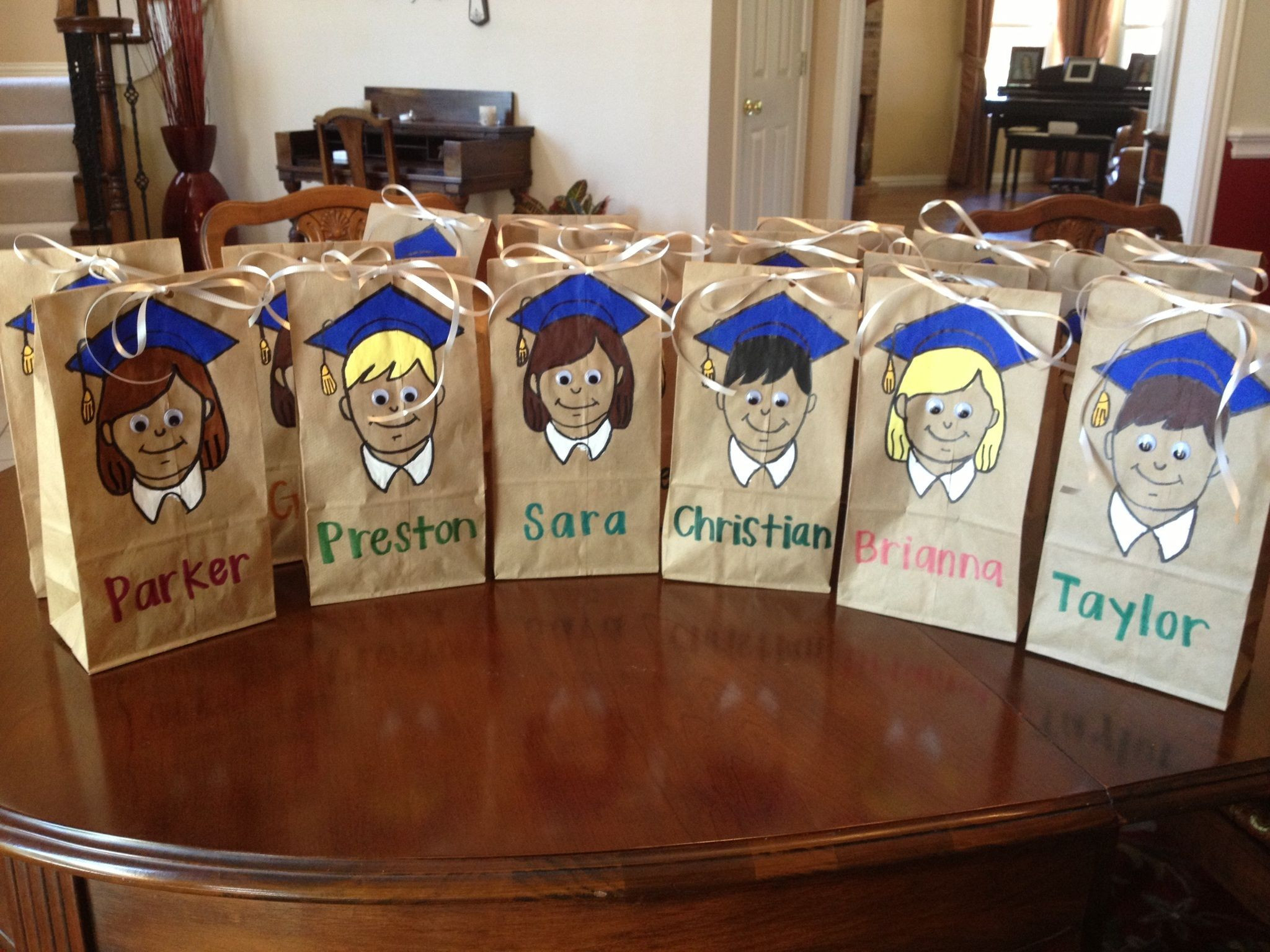 Best ideas about Graduation Gift Bag Ideas . Save or Pin Easy Elementary School Graduation Goo Bags Cut out Now.