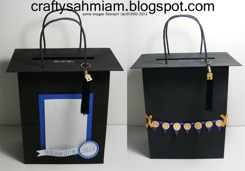 Best ideas about Graduation Gift Bag Ideas . Save or Pin crafty sahm i am Graduation Cap Gift Bags Now.