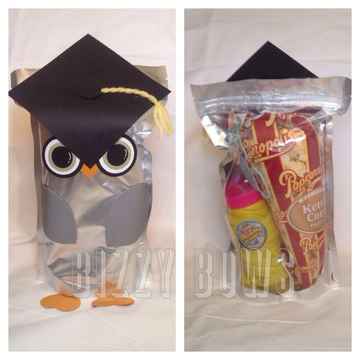 Best ideas about Graduation Gift Bag Ideas . Save or Pin Cute owl preschool graduation goo bag Now.