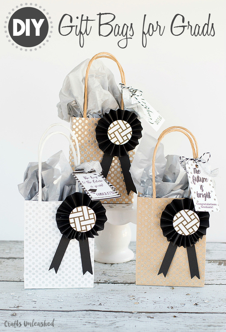 Best ideas about Graduation Gift Bag Ideas . Save or Pin DIY Graduation Gift Bags Tutorial Consumer Crafts Now.