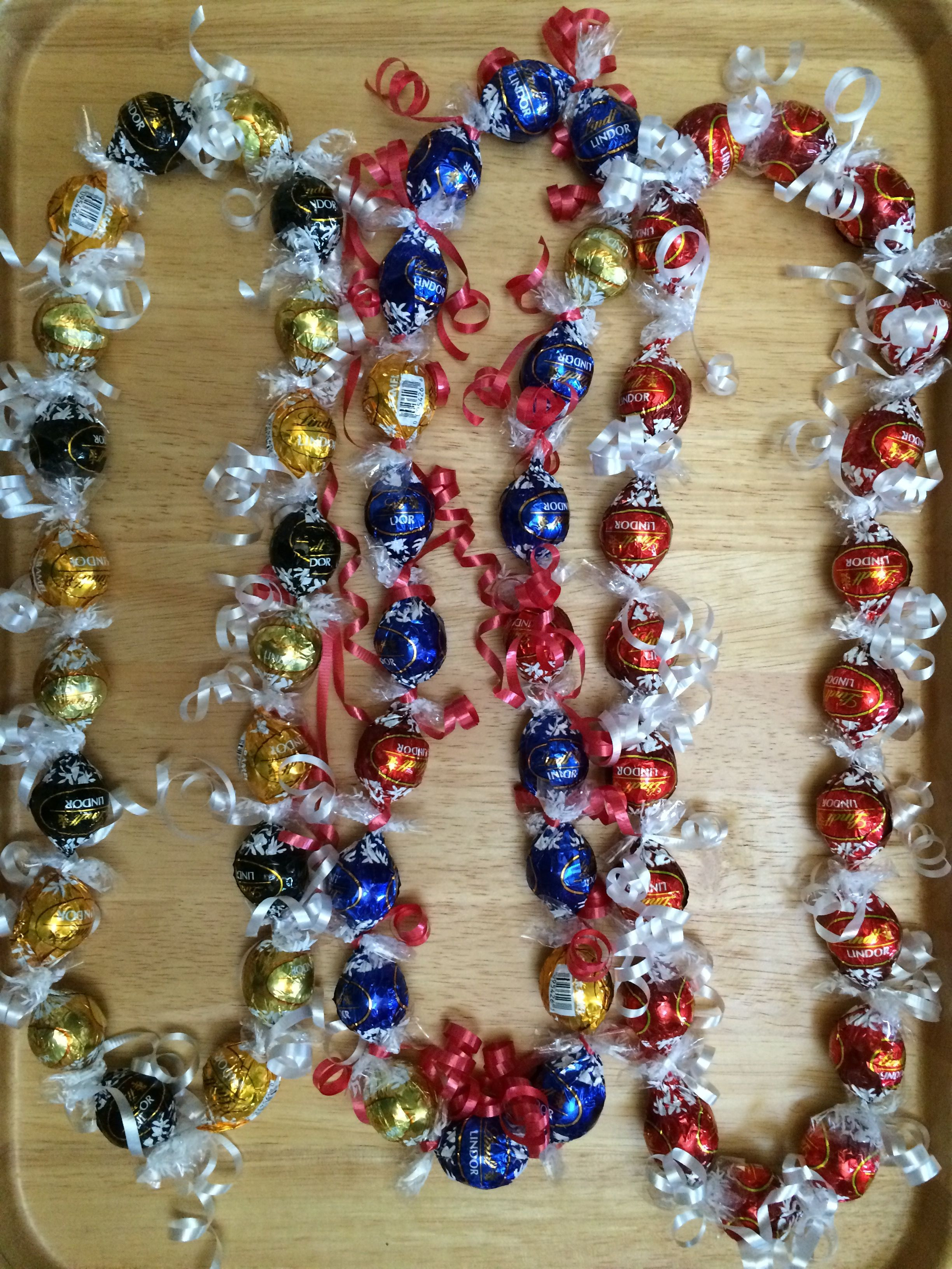 Best ideas about Graduation Leis DIY . Save or Pin Lindt Candy Lei Yarn Lei & others Now.